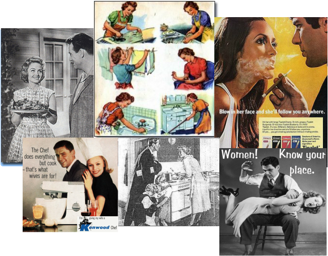 an analysis of gender roles in history relating to work and home Gender ideology & separate spheres in the the victorian age saw major changes in knowledge and practice relating to public acquired at home and at work.